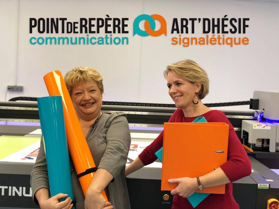 On n'a pas tous les jours 20 ans - Pointderepère & Art'dhésif, l'agence de communication et signalétique